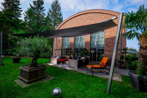 sonnensegel in elektrisch aufrollbar bad harzburg von. Black Bedroom Furniture Sets. Home Design Ideas