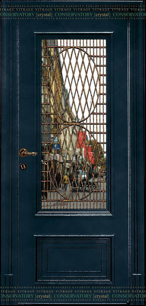 CONSERVATORY[crystal]: Окна и двери в . Автор – KAGADATO