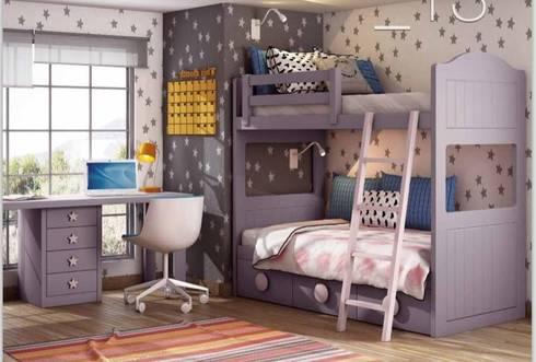 Dormitorios infantiles con encanto de muebles dalmi - Muebles con encanto ...
