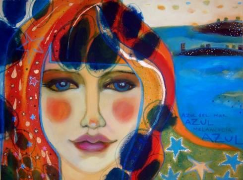 Azul: Arte de estilo  de Anita Smile