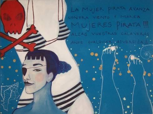 Mujer pirata: Arte de estilo  de Anita Smile