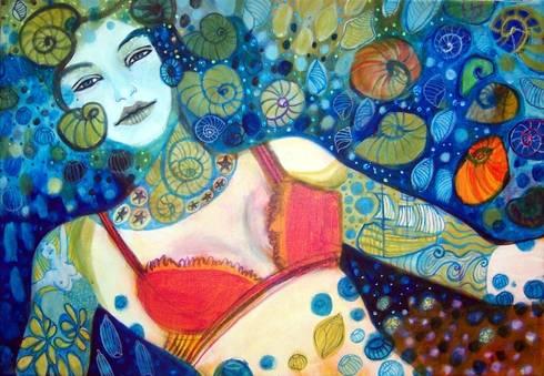 Sueño de sirenas: Arte de estilo  de Anita Smile