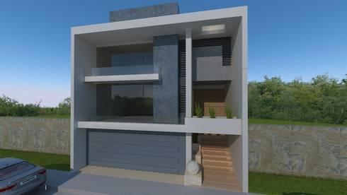 Residencial Europa Lote 3: Casas de estilo minimalista por CouturierStudio