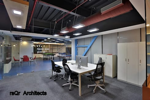 Corporate Offices :  Offices & stores by rsQr Architects