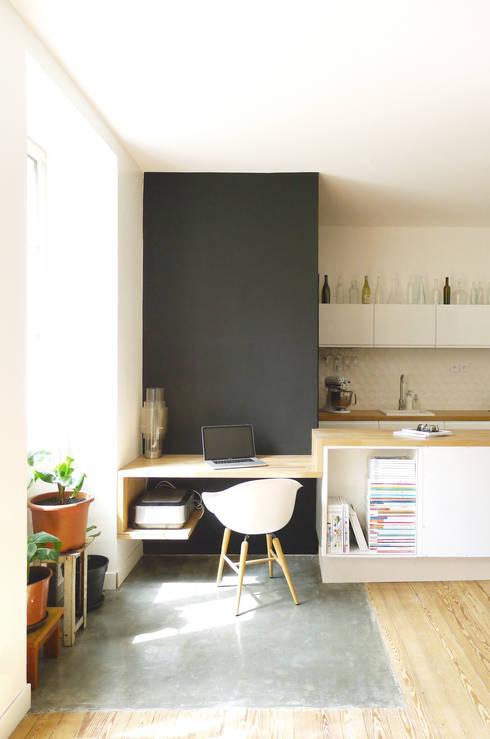 BUREAU: Bureau de style de style Scandinave par MAYA Architecture & Design