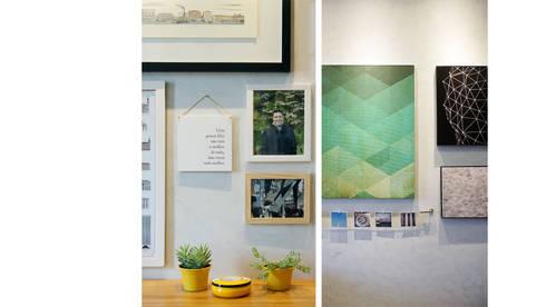 Detalhe Sala de Estar: Salas de estar modernas por fpr Studio