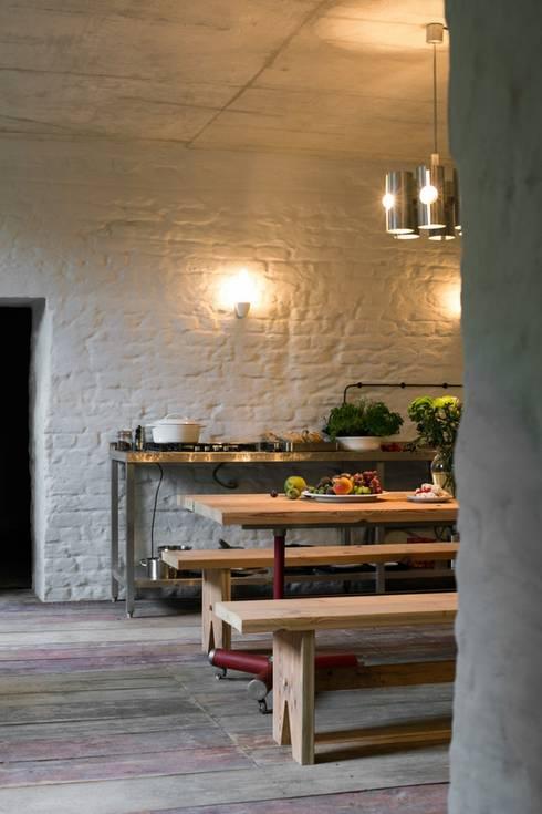 Cocinas de estilo rural por Loft Kolasiński