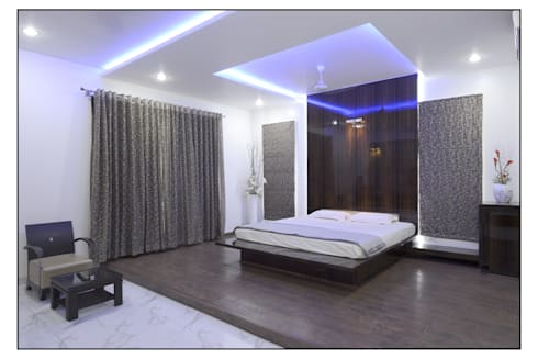 Thane Site: modern Bedroom by CK Interiors Pvt Ltd
