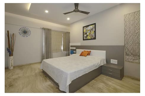 Jaiswal, Pune: modern Bedroom by CK Interiors Pvt Ltd