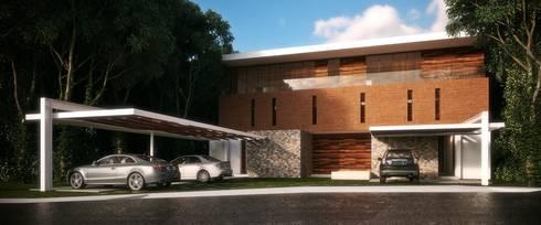 Casa HH: Casas de estilo moderno por TNGNT arquitectos