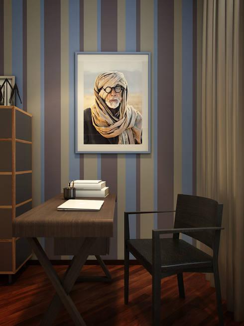 Estudios y oficinas de estilo  por EVGENY BELYAEV DESIGN