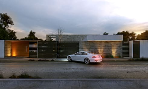 Casa MO: Casas de estilo moderno por TNGNT arquitectos