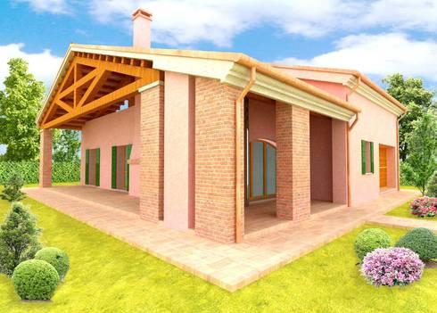 Casa veneta di architettifavaro homify for Piani casa in stile artigiano 2 camere da letto