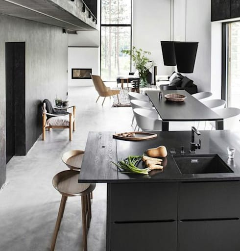 modern Kitchen by Eurekaa