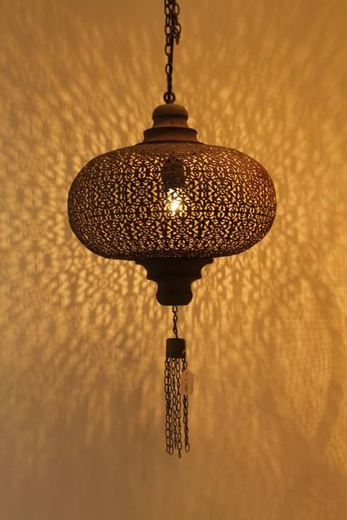 Marokkaanse lampen lantaarns door el moro homify for Lampen outlet