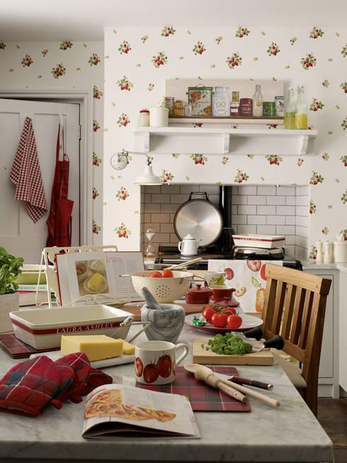 Projekty,  Kuchnia zaprojektowane przez Laura Ashley Decoración