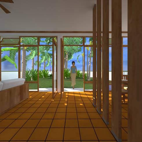 living room:   por JOÃO SANTIAGO - SERVIÇOS DE ARQUITECTURA