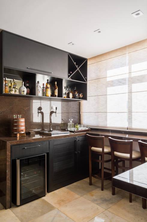 Гостиная в . Автор – Melina Mundim | Design de Interiores
