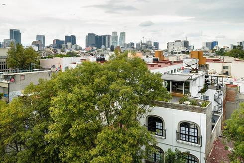 Casa Pasiva desde el extior: Casas de estilo moderno por Windlock - soluciones sustentables
