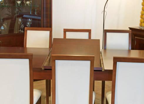 Porto: Comedor de estilo  por Muebles Maple