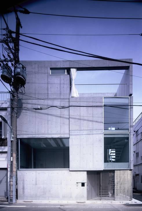 Maisons de style de style Minimaliste par スズケン一級建築士事務所/Suzuken Architectural Design Office