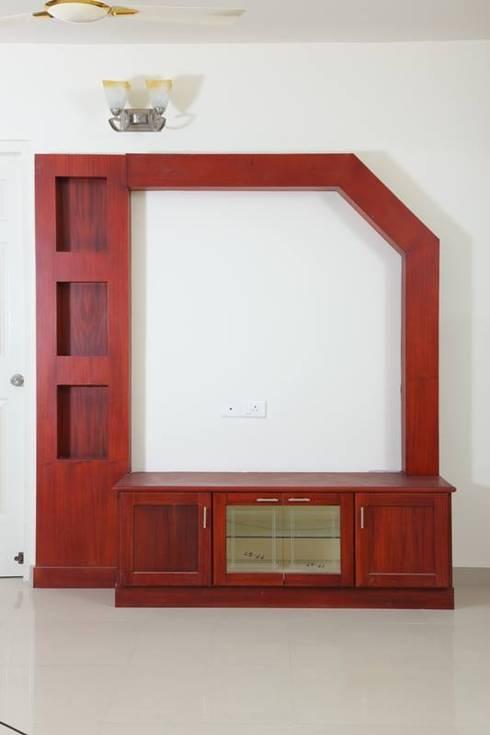 TRADITIONAL INTERIORS.: modern Living room by homecenterktm