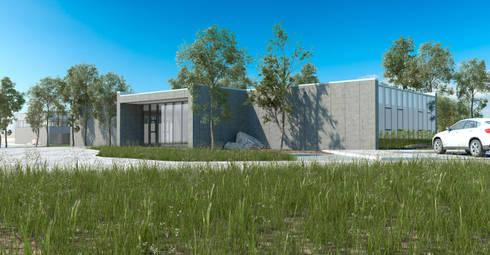 Escola de Hotelaria de Fátima_EHF: Escritórios e Espaços de trabalho  por FILIPE SARAIVA - ARQUITECTOS, LDA