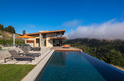 Casa da piscina - Sonoma Coast, California:   por António Chaves - Fotografia