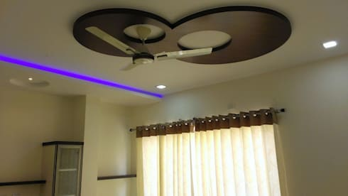 Apartment: modern Bedroom by bhavani&co