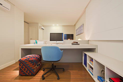 Apartamento Funcionários: Quartos  por Dubal Arquitetura e Design