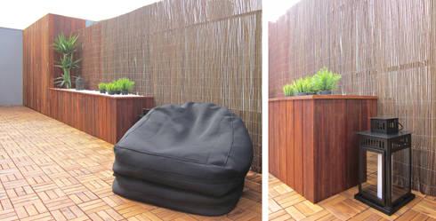 Terraço das Freiras – Remodelação: Terraços  por A2OFFICE