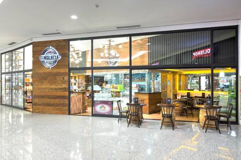 Empório Sinceitá - São Bernardo Plaza Shopping: Lojas e imóveis comerciais  por Atmosfera Arquitetura Sociedade Ltda