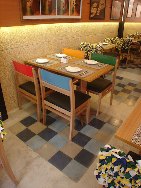 Majó: Espaços gastronômicos  por Atmosfera Arquitetura Sociedade Ltda