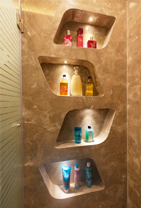 Bridal Room, Mumbai.:  Bathroom by SDA designs