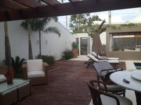 Área de lazer: Terraços  por Studio HG Arquitetura