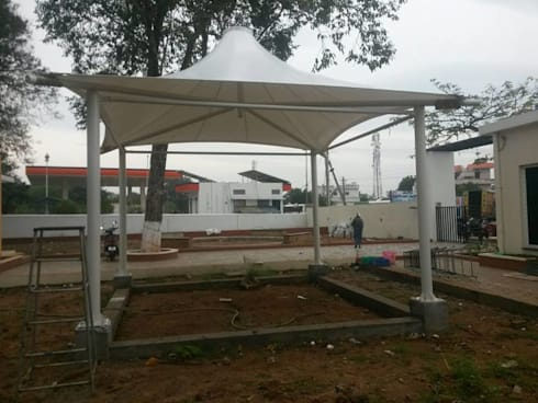 Sangam Dairy: modern Garden by Fabritech India