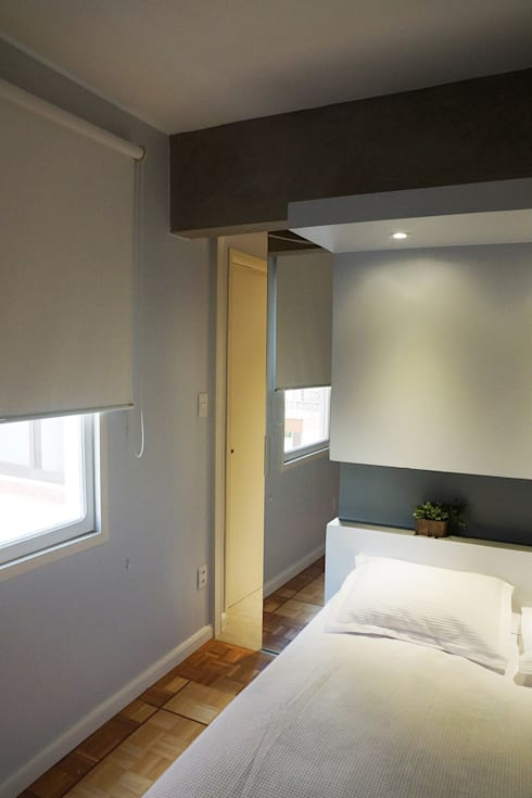 Projekty,  Sypialnia zaprojektowane przez Maxma Studio