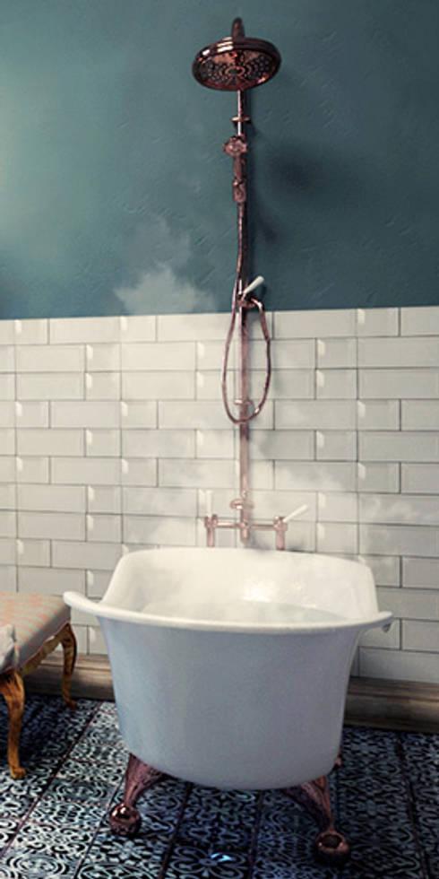 Relajación de un baño: Baños de estilo  por SIMPLE actitud