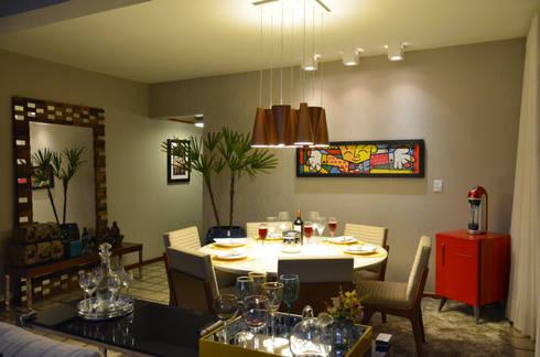 Sala de Jantar:   por CARDOSO CHOUZA ARQUITETOS