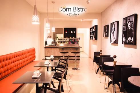 Balcão de MDF em Vintage.: Espaços gastronômicos  por Daniely Victor - Designer de Interiores