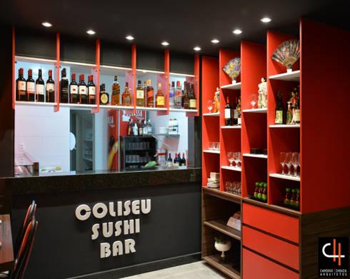 Área do bar:   por CARDOSO CHOUZA ARQUITETOS