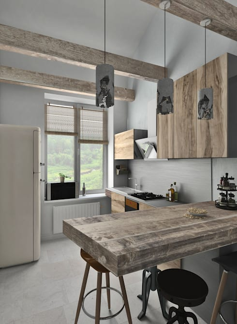 eclectic Kitchen by BMM