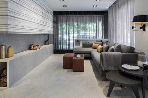 Showroom Love Tiles 2015- Espaço residencial: Centros de exposições  por Rita Glória interior design