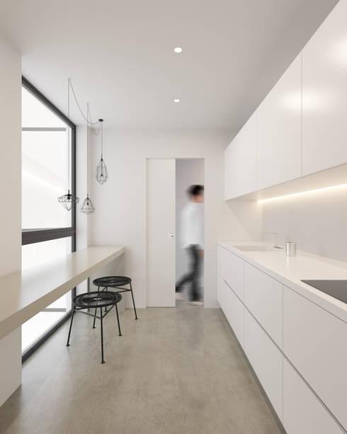 Dise o de interiores en promoci n de viviendas de for Interiores de viviendas