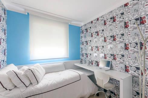 Apartamentos Decorados: Quarto de crianças  por ME Fotografia de Imóveis