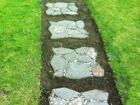 ideas para suelos de jardn