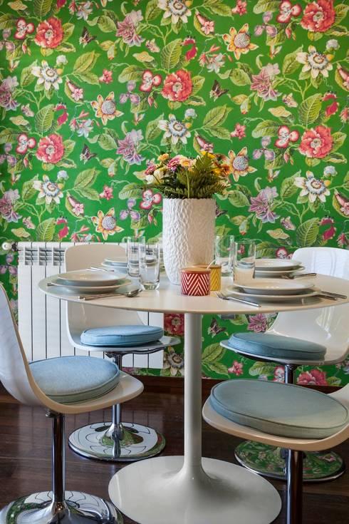 PORTO . INTERDESIGN: Cozinha  por Interdesign Interiores