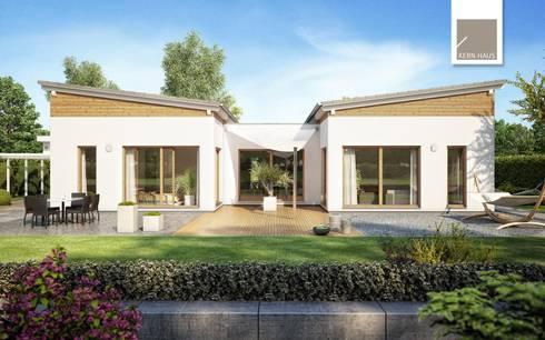 wohnen auf einer ebene bungalows von kern haus ag homify. Black Bedroom Furniture Sets. Home Design Ideas