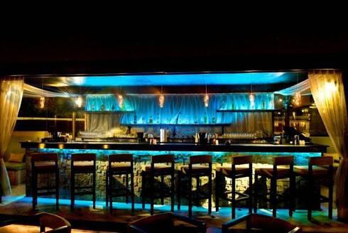 Fireflies, Bangalore: modern Wine cellar by In-situ Design
