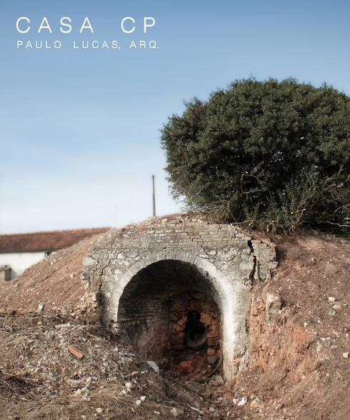 House CP - Paulo Lucas, Arq.: Casas modernas por SPL - Arquitectos